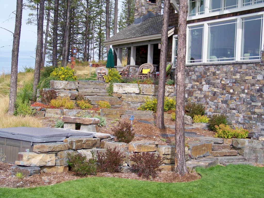 Photo gallery riley landscape construction for Landscape construction