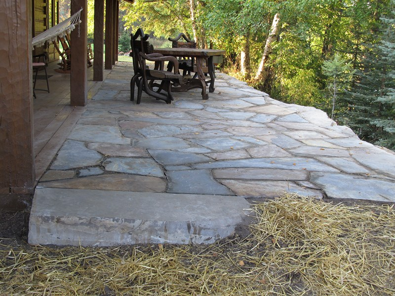 Patio · Stepping Stones